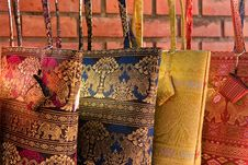 Free Thai Style Woman Bag Royalty Free Stock Images - 10033589