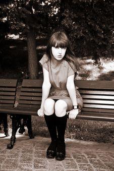 Free Woman At The Park Stock Photos - 10034543