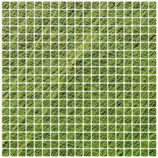 Green Vector Mosaic Stock Image