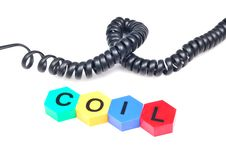 Free Black Coil Stock Photography - 10034952