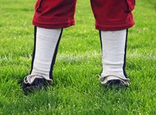 Free On The Sideline Royalty Free Stock Image - 10035026