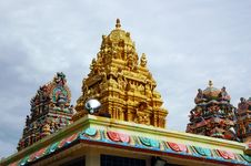 Free Indian Gold Temple Stock Images - 10035254