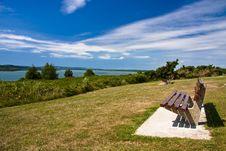 Free Landscape Sea Sky Grass Stock Photography - 10037182