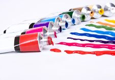 Free Tube Of Paint Royalty Free Stock Images - 10037409
