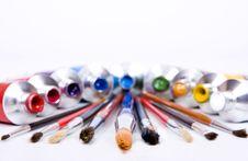 Free Tube Of Paint Stock Image - 10037421