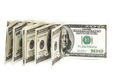 Free One Hundred Dollars Royalty Free Stock Photos - 10037718