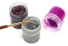 Free Brush And Paint Jar Stock Image - 10037761