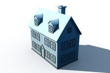 Free Isolated Big House Stock Image - 10038491
