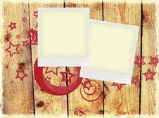 Free Polaroid Background Royalty Free Stock Photography - 10039097