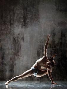 Free Yogic Exercise Royalty Free Stock Images - 10039209
