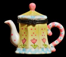 Free Teapot, Tableware, Porcelain, Dishware Royalty Free Stock Photos - 100332708