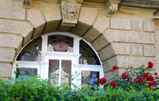 Free Flower, Window, Arch, Home Stock Photos - 100333243