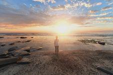 Free Sky, Sea, Horizon, Sunrise Royalty Free Stock Photos - 100333408