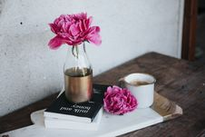 Free Flower, Pink, Cup, Vase Royalty Free Stock Image - 100333466