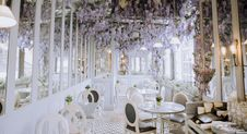 Free Function Hall, Interior Design, Dining Room, Floristry Royalty Free Stock Image - 100335946