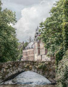 Free Waterway, Water, Tree, Sky Royalty Free Stock Image - 100340706