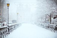 Free Snow, Winter, Freezing, Blizzard Royalty Free Stock Photography - 100343357