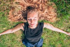 Free Hair, Face, Human Hair Color, Grass Stock Photos - 100347843