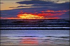 Free New Brighton Sunrise Stock Photography - 100369722