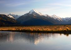 Free Sunrise Mount Cook &x28;18&x29; Royalty Free Stock Photography - 100369727