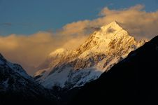 Free Mt Cook National Park. NZ Royalty Free Stock Photos - 100369838