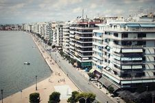 Free Thessaloniki From White Tower Royalty Free Stock Photo - 100369905