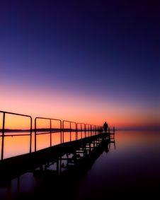 Free Horizon, Sky, Calm, Sunrise Royalty Free Stock Image - 100384166