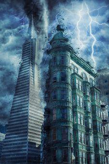 Free Skyscraper, Metropolis, Building, Landmark Royalty Free Stock Photo - 100388385