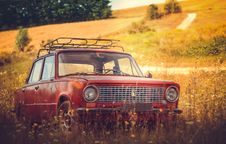Free Car, Motor Vehicle, Yellow, Family Car Stock Photos - 100393773