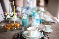 Free Brunch, Tableware, Coffee Cup, Porcelain Stock Photos - 100398303