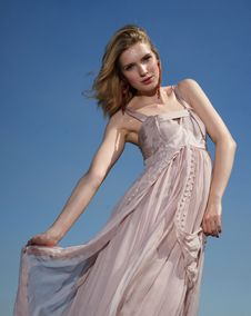 Free Fashion Model, Model, Dress, Supermodel Royalty Free Stock Image - 100398336