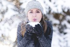 Free Winter, Snow, Freezing, Fun Royalty Free Stock Photography - 100399217