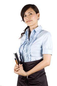 Elegant Office Lady Stock Photos