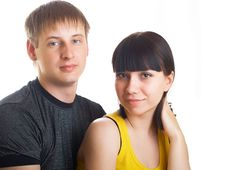 Free Young Couple In Love Stock Photo - 10040960