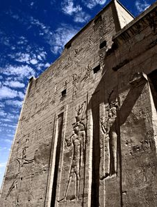 Edfu Temple Royalty Free Stock Photo