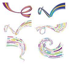 Free Stripe Set Royalty Free Stock Photo - 10041345