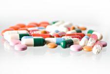 Free Pills Stock Image - 10043381