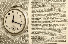 Free Vintage Antique Pocket Watch Stock Images - 10043564