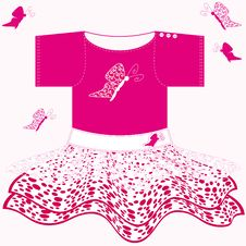Free Baby Girl Dress Stock Images - 10044264