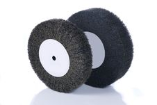 Free Black And Gray, Abrasive Flap Wheels Stock Photo - 10044800