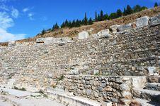 Free Ephesus Amphitheater Stock Image - 10045741