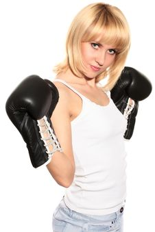 Free Beauty Boxing Stock Photography - 10046282