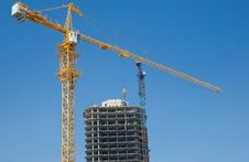 Free Building With Crane Stock Images - 10046674