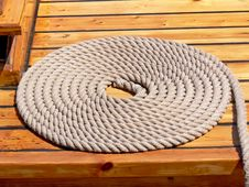 Free Rolled-up Rope Royalty Free Stock Images - 10047739
