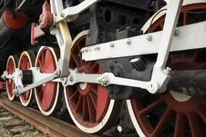 Free Locomotive Wheels Royalty Free Stock Images - 10048259