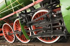 Free Locomotive Wheels Royalty Free Stock Photos - 10048278