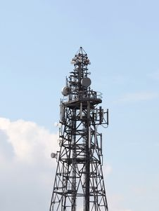 Free Telecommunication Mast Stock Photo - 10048290