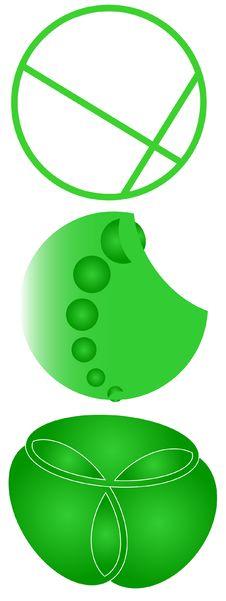 Free Green Logos Stock Photos - 10049893