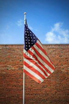 Free American Flag Royalty Free Stock Photo - 100474505