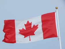 Free Canadian Flag Royalty Free Stock Photos - 100474528